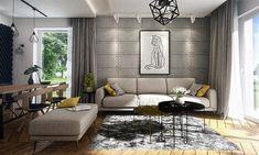 Projekt domu Focjusz 3 103,83 m2 - koszt budowy 189 tys. zł - EXTRADOM Home Technology, Couch, Furniture, Home Decor, Houses, Projects, Settee, Decoration Home, Sofa