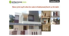 """""""Expertise you can trust. A home you can love """".Independent house for sale in Kakkanad,Ernakulam @ 60 Lakh.For more details:http://goo.gl/gUgG1R"""