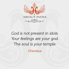 The soul is my temple