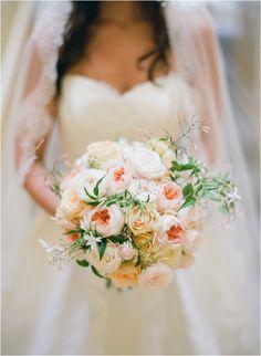Wedding Wednesday : 10 Beautiful Peach Wedding Bouquets – Part 1 Brides And Bridesmaids, Bridesmaid Bouquet, Wedding Bouquets, Bridesmaid Duties, Mod Wedding, Floral Wedding, Wedding Flowers, Garden Wedding, Wedding Bells