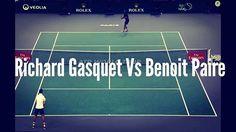 The battle of the Frenchmen! Paire's not giving up that easily! 😄🎾👏⠀ #Gasquet #etennisleague #richardgasquet #benoitpaire #etennisleaguenation #tennis #tennis🎾 #tennispro #footwork #paire #tennismatch
