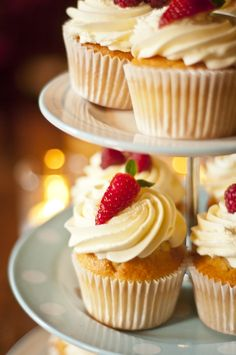 Afternoon Tea Mini Cupcakes, Afternoon Tea, Desserts, Food, Tailgate Desserts, Deserts, Essen, Postres, Meals
