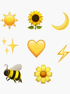yellow emoji sticker pack by emileeannew Friends Emoji, Snapchat Friend Emojis, Snapchat Names, Emoji For Instagram, Cute Instagram Captions, Cute Emoji Wallpaper, Wallpaper Iphone Disney, Flor Emoji, Emoji Kawaii