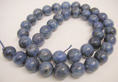 Natural Lapis Lazuli Round Stone Beads 4mm/6mm/8mm/10mm/12mm Sold by String