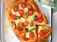 Pizza alla margherita brought to you by New Zealand Woman