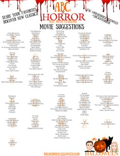 halloween mr and mrs halloween horror movie challenge scary movies Scary Movie List, Scary Movies To Watch, Halloween Movies List, Halloween Movie Night, Halloween Horror Movies, Soirée Halloween, Movie To Watch List, Classic Halloween Movies, Planners