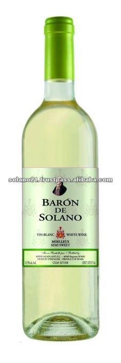BARON DE SOLANO SEMI-SWEET WHITE WINE