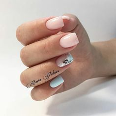 French Manicure Acrylic Nails, Nail Manicure, Pink Nail Art, Pink Nails, Hot Nails, Hair And Nails, Gelish Nails, Minimalist Nails, Dream Nails
