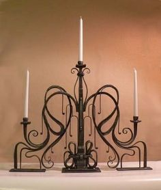 """another shot of the """"large candelabra"""", in private collection."""