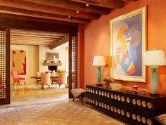 Оранжевый цвет в интерьере. 50 варинатов - Сундук идей для вашего дома - интерьеры, дома, дизайнерские вещи для дома