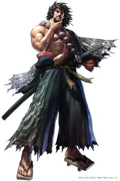 Mitsurugi from Soul Caliber series. One of my favorite characters.