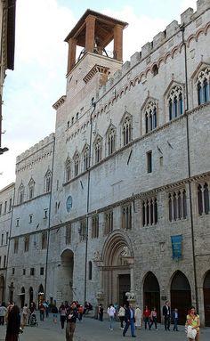 Palazzo dei Priori - Perugia, Umbria, Italy
