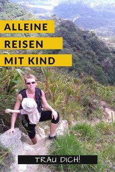 Alleine reisen mit Kind ist immer präsenter. In Deutschland ist jedes fünfte Elternteil  alleinerziehend. Aber man muss nicht alleinerziehend sein, um alleine mit Kind zu reisen. Ich bin ein gutes Beispiel fürs alleine Reisen mit Kind! Denn obwohl ich einen Mann habe, reise ich mit meinem Kind um die Welt. Und ich kann euch nur raten: Liebe Mamas, traut euch! #alleinereisenmitkind #alleinereisenmitbaby #alleinereisenfrau #alleinereisenalsfrau #alleinereisentipps #reisenmitkindern…