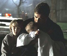 John, Dean and Sam after the fire. :*(