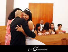 Get photos of people hugging the Quinceanera girl!