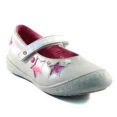 585A LOUP BLANC HELFIE ARGENT www.ouistiti.shoes le spécialiste internet de la chaussure bébé, enfant, junior et femme collection printemps été 2015