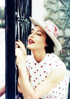 Ava Gardner, 1957 http://