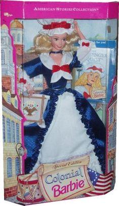 Special Edition Colonial Barbie Doll Barbie http://www.amazon.com/dp/B000HOPB2G/ref=cm_sw_r_pi_dp_f9Houb1ENZM5F