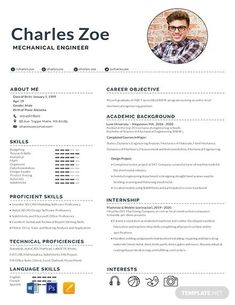 Free Mechanical Engineer Fresher Resume Template ---CLICK IMAGE FOR MORE--- resume how to write a resume resume tips resume examples for student