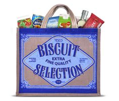 Tesco Biscuit Selection | By P&W Design Consultants