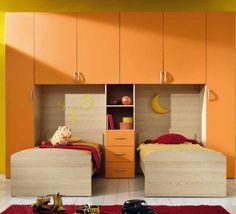 Camerette Per Bambini Con Due Letti.15 Fantastiche Immagini Su Camerette Per Bambini Nel 2012