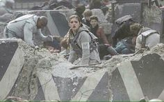 The moment when you realize that the best girl In the hunger games is about to die