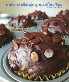A delicious chocolate muffin whey protein recipe for female's looking to stay healthy and fit. Featuring Her Whey protein by NLA for Her.