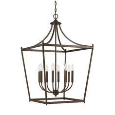 8 Light Foyer Fixture | Capital Lighting Fixture Company