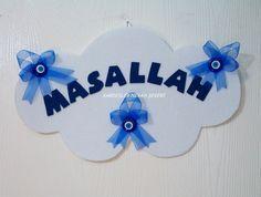 sunnet-susleri-13 Felt Crafts, Diy And Crafts, Hamsa, Magnets, Flowers, Decor, Projects, Blue, Crafting