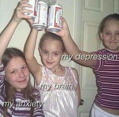 Party depression and anxiety Dankest Memes, Funny Memes, Hilarious, Reaction Pictures, Funny Pictures, Meme Internet, Lila Baby, Baguio, Freestyle