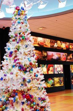Christmas tree at Disney's Art of Animation Resort