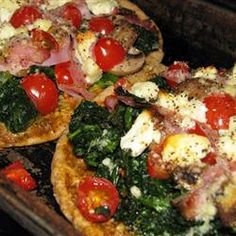 So delicious and so quick to throw together. Great pita bake recipe