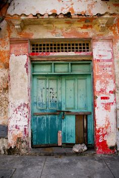 Doors of Cartagena: Turquoise and Red // ©Bryan Pocius // Creative Commons