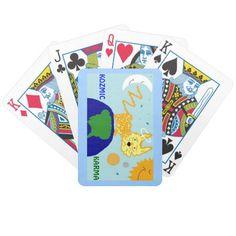 DOG n UNIVERSE KOZMIC KARMA Bicycle Playing Cards