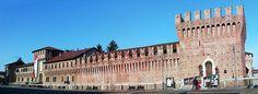 Galliate (Novara) - Castello sforzesco  #TuscanyAgriturismoGiratola
