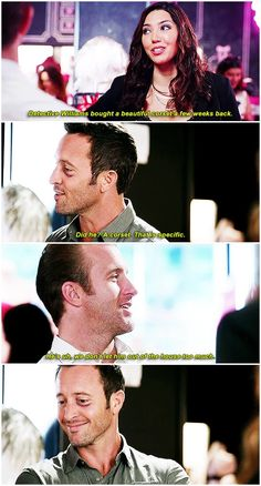 hawaii five 0 mcdanno alex o'loughlin scott caan h50: 6x14 what is context? it's something that you don't need :) danny's line was so affectionate i could be ill otp: flew all this way