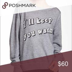 Wildfox comfy pullover NWT. Size xs. Super comfy Wildfox Tops Sweatshirts & Hoodies