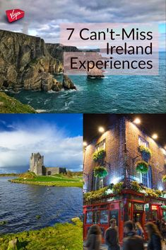 All of these belong on your Ireland must-do list! 7 Can't Miss Ireland Experiences - Virgin Vacations Travel Guide #vacationstravel #irelandtravel