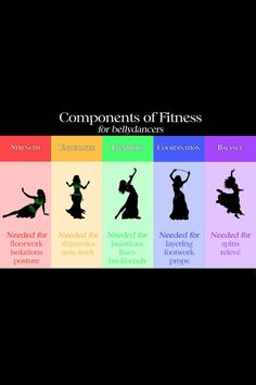 Belly dance is one of my favorite ways to exercise.