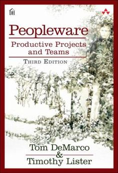 Peopleware : productive projects and teams. This electronic book asserts that most software development projects fail because of failures within the team running them. This book is written for software development team leaders and managers, but it's filled with enough common-sense wisdom to appeal to anyone working in technology. The advice is presented straightforwardly and ranges from simple issues of prioritisation to complex ways of engendering harmony and productivity in your team.