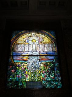 The Flight of Souls. Louis Comfort Tiffany. In the Wade Chapel, Lake View Cemetery. Cleveland, OH