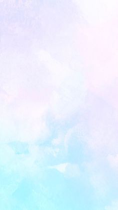 Pastel watercolour iPhone wallpaper
