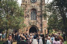 St Peter's Church, Prestbury Village wedding