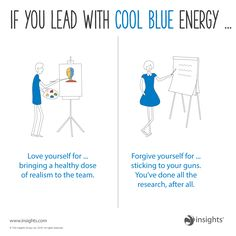 Love yourself and forgive yourself. Cool Blue colour energy