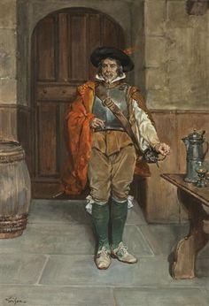François Adolphe Grison - Mousquetaire
