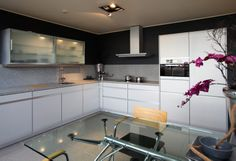 Kitchen Cabinets, Table, Furniture, Design, Home Decor, Cook, Eat, American Kitchen, Cooking