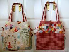 Labores de Tania: Gran bolso de costura