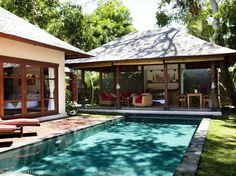 2 bedroom villa in Jimbaran to rent from £861 pw, with a private pool. Also with jacuzzi, balcony/terrace, air con and DVD.