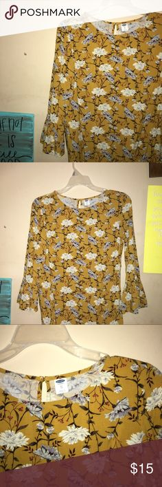 New Old Navy Dress Brand new, never worn! Perfect dress for fall!! Old Navy Dresses Long Sleeve