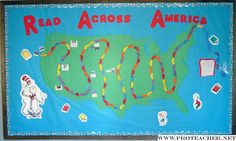 "interactive RAA board, a car for every book read by a student in March, ""sightseeing"" POI along the route."